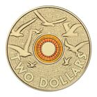 2015 Remembrance Day $2 Two Dollar Coin - Orange, Royal Australia Mint