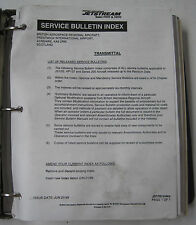 Jetstream 3100./3200 Service Bulletins With Service Bulletin Index