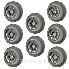 BOSCH Genuine Dishwasher Lower Basket Runner Castor Wheel 8 x Wheels