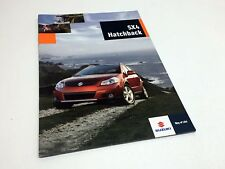 2009 Suzuki SX4 Hatchback Brochure