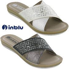 Inblu Flip Flop Sandals Open Toe Jewelled Cushioned Soft Beach Womens Flats