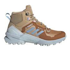 adidas Womens Terrex Swift R3 GORE-TEX Mid Walking Boots Brown Sports Outdoors