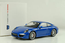 2012 Porsche 911 991 Carrera S saphirblau metallic 1:18 Welly Museum