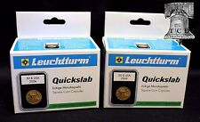 10 Lighthouse QUICKSLAB Coin Holder 41mm Casino Medallion Case SLAB Capsule