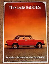 1978-1979 LADA 1600 ES Saloon SALES BROCHURE volantino