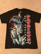 New England Patriots Graphic T-Shirt - Medium - Majestic NFL Team Apparel - NWT