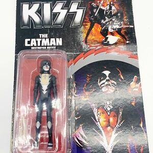 "KISS The Catman Destroyer Outfit 3.75"" Action Figure Series 3 Bif Bang Pow! NIB"