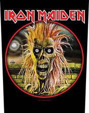 Iron Maiden Official Backpatch First Álbum parche de espalda Británico