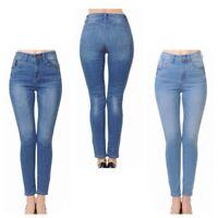 "Wax Women's Push-Up High Rise Skinny  Denim Jeans "" BUT I LOVE""  (90500)"