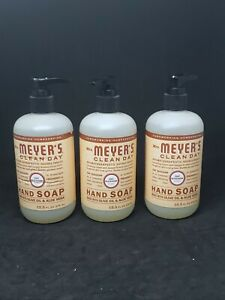 Lot of (3) Mrs. Meyer's - Clean Day Liquid Hand Soap Oat Blossom - 12.5 fl. oz.