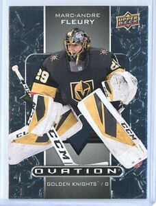 2020-21 MARC-ANDRE FLEURY UPPER DECK EXTENDED STANDING OVATION #ED 19/50!!