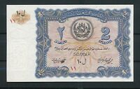 AFGHANISTAN 2 Afghanis 1936  UNC  Pick 15  Rare / Selten  UNCIRCULATED