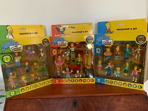 The Simpsons - 2006 Limited Edition Figurine Collection Series 1, 2, 3