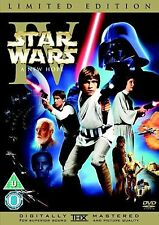 Star Wars IV A New Hope Limited Edition Mark , Harrison Brand New 2 disk Dvd