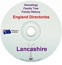 Family History Tree Genealogy Directories Post Office Trades Lancashire DVD
