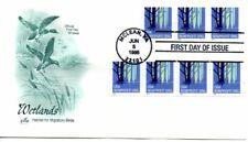 US FDC #3207 Wetlands PNC3 Plate S1111, ArtCraft (6269)