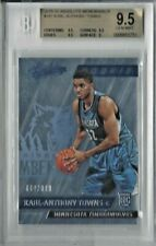 2015/16 Panini Absolute #167 KARL-ANTHONY TOWNS RC SP */999 BGS 9.5 GEM MINT
