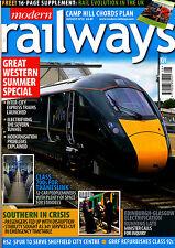MODERN RAILWAYS 815 AUG 2016 Class 700,e320,Siemens,Rail Evolution,Great Western