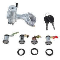 For Nissan Patrol GQ Y60 1988-1998 Lgnition Barrel Door Lock + Switch + Barn
