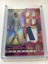 Jamie Vardy 2016 Panini Spectra Soccer Jersey Patch Relic 2 CLR England 23/25