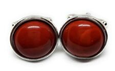 JASPER CABOCHONS AND SILVER CUFFLINKS MANUFACTURERS DIRECT PRICING