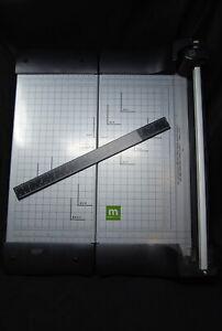 Making Memories Slide Cutter Paper Trimmer Folding 12x12 Scrapbooking Crafts