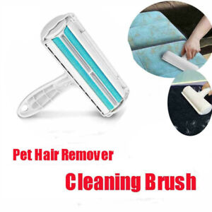 Household Pet Hair Remover Sofa Clothes Lint Cleaning Brush Reusable Fur Roller