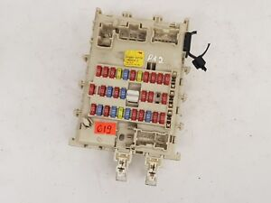 NISSAN PRIMERA P12 2003 LHD 2.2 DCI FUSE BOX AND FUSES OEM 24350AV700