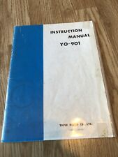 Yaesu YO-901 Multiscope Scope Original Instruction Manual Only