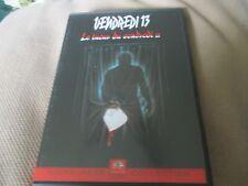 "RARE! DVD ""VENDREDI 13, CHAPITRE 3 III : LE TUEUR DU VENDREDI 2 II"" horreur"