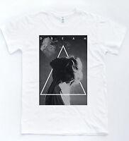 Dream T-shirt Smoke Hipster Tee Indie Retro Black White Triangle Art