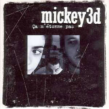 Mickey 3D CD single  Ca m'etonne pas PROMO