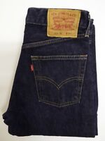 LEVI'S 525 JEANS WOMEN'S BOOT CUT W30 L32 DARK BLUE STRAUSS LEVJ264  #