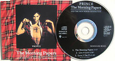 PRINCE CD The Morning Papers 3 Trk UK Made England W0162CD Matrix Disc UNPLAYED