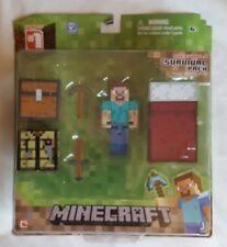 BNIB Minecraft toy - Overworld Survival Pack (Fully Articulated)