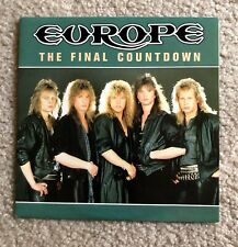 "**EUROPE - The Final Countdown / On Broken Wings 7"" SINGLE 