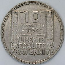 1933 | France 10 Francs | Silver | Coins | KM Coins