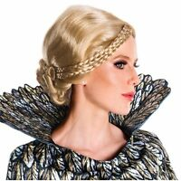 Queen Ravenna Costume Wig Medieval Braided Blonde Disney The Huntsman Ravenna