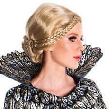 Queen Ravenna Costume Wig Medieval Braided Blonde Disney The Huntsman Ravenna