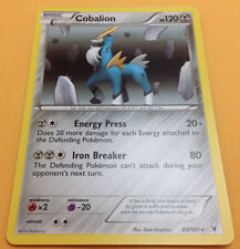 Pokemon Noble Victories Cobalion 84/101 Rare Card Mint