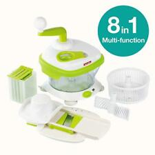 ANDCOLORS ULTIMATE FOOD CHOPPER MULTI-FUNCTIONAL HAND-POWERED FOOD CHOPPER