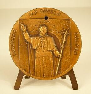 Médaille Papa Pope Papa Jean-Paul II  John Paul Juan Pablo Zakopane Polska medal