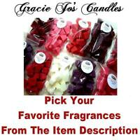 60 BEST SELLER Bulk Home Candle Wax Tarts Melts Chunks Christmas Double Scented