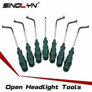 Headlight Retrofit Cutoms Tool Disassembly Housing Remove Cold Melt Glue Sealant