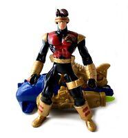 Cyclops Vintage Marvel X-Men Secret Weapon Force Figure Complete 1998 Toybiz