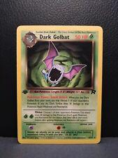 Dark Golbat Rare - 24/82 1st Edition Team Rocket NM