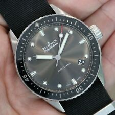 Blancpain Fifty Fathoms Bathyscaphe Automatic Grey 5000-1110-NABA