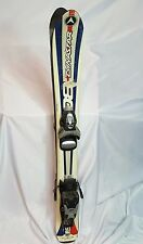 KIDS SKI Dynastar 80 jr 80cm ski ,USED LOOK ski bindings adjust to fit boots