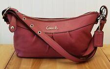 Coach Ashley Rose Pink Shoulder Bag Handbag (C1220-F15512)