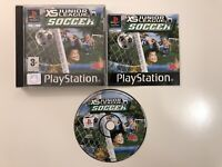 XS Junior League Soccer Sony Playstation 1 PS1 PS2 PS3 Game Complete UK PAL